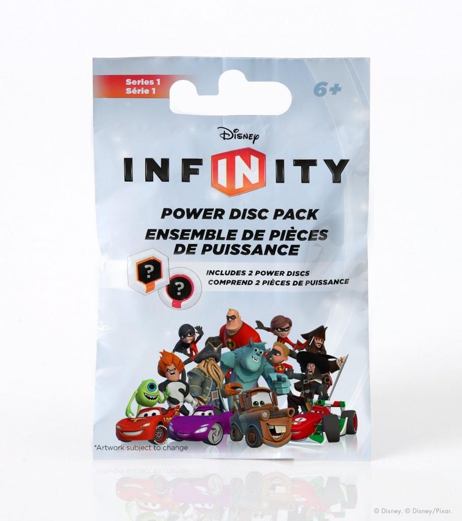 Disney Infinity - Power Discs Series 1 Packaging