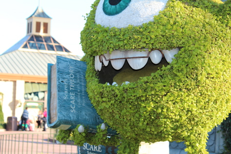 Monsters University - Epcot Topiary 2