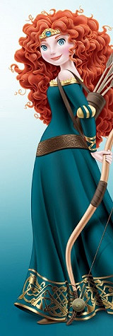 Merida Disney Princess Artwork