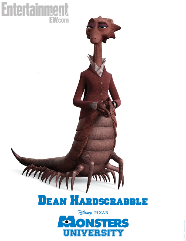 Monsters University Character Poster - Dean Hardscrabble