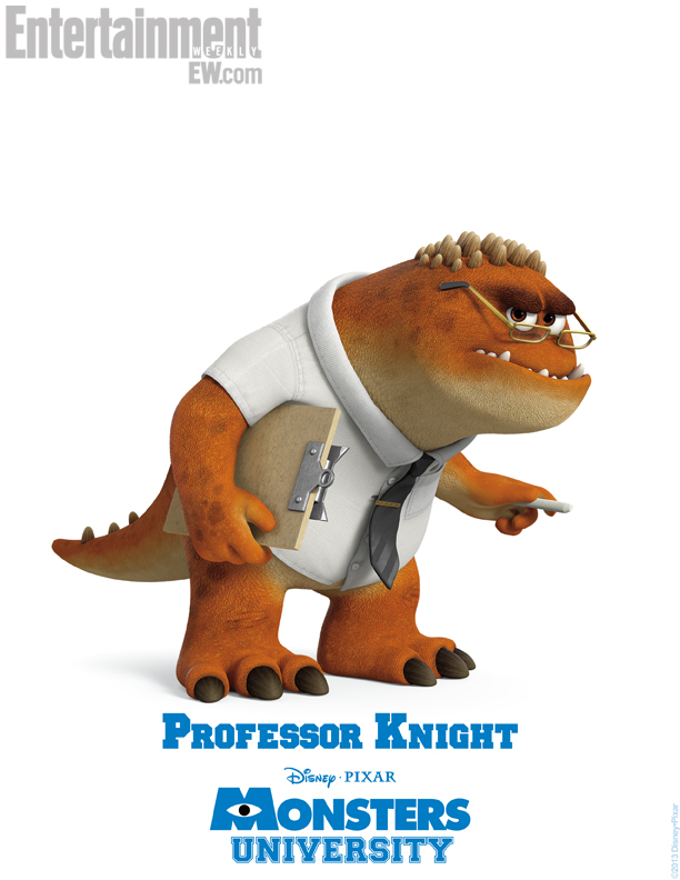 Monsters University Character Poster - Professor Knight