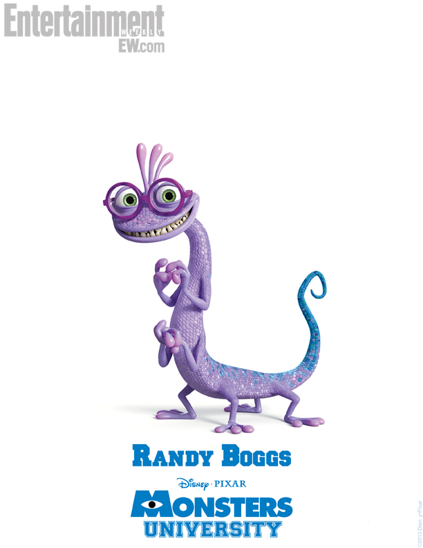 Monsters University Character Poster - Randall Boggs