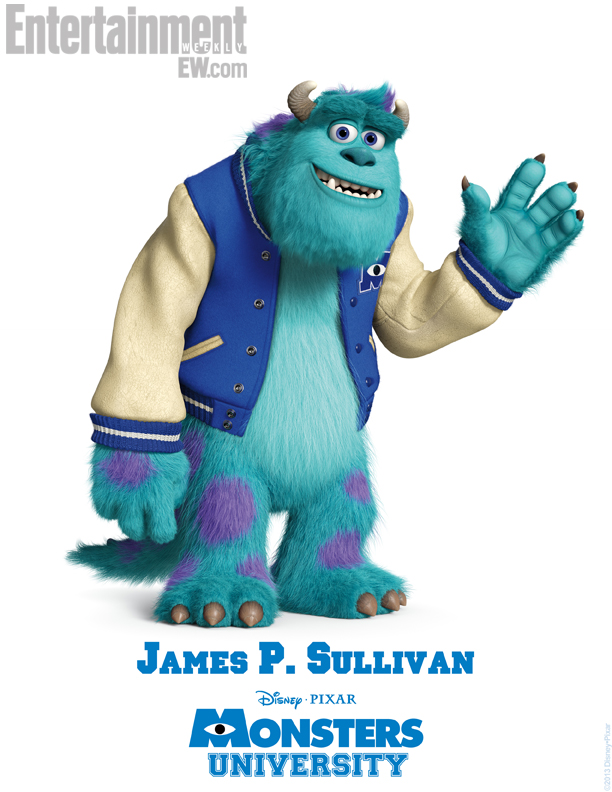 Monsters University Character Poster - Sulley