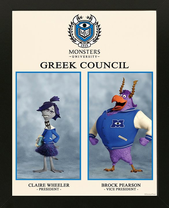 Monsters University - Greek Council