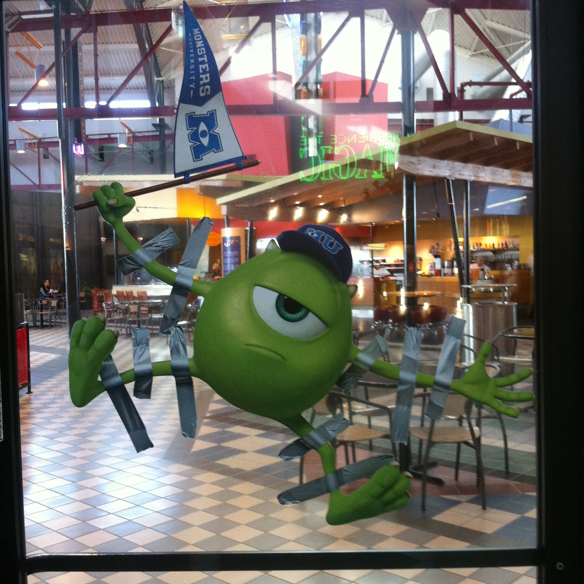 Monsters University - Mike Window Cling