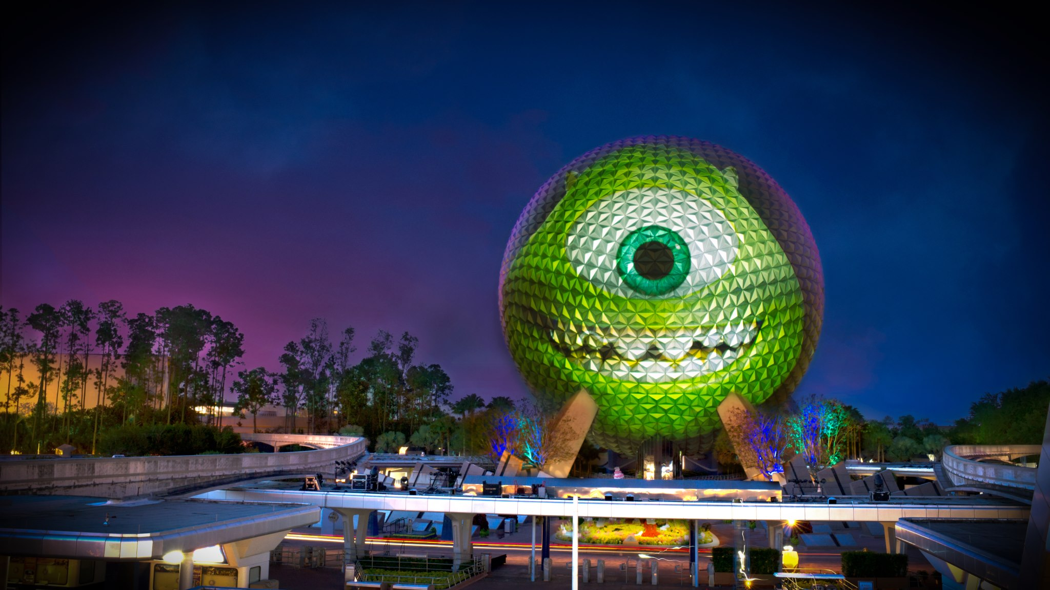 Spaceship Earth - Mike Wazowski 2