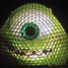Walt Disney World - Mike Wazowski Projection