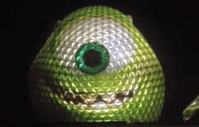 Walt Disney World To Reportedly Turn Epcot's Spaceship Earth Into Giant Mike Wazowski For One Night