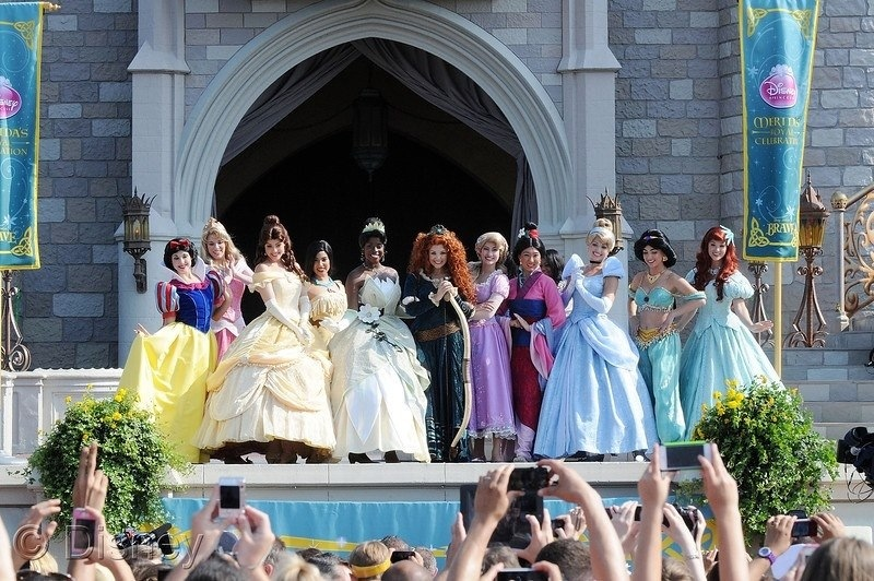 Pixar's Merida Crowned 11th Disney Princess