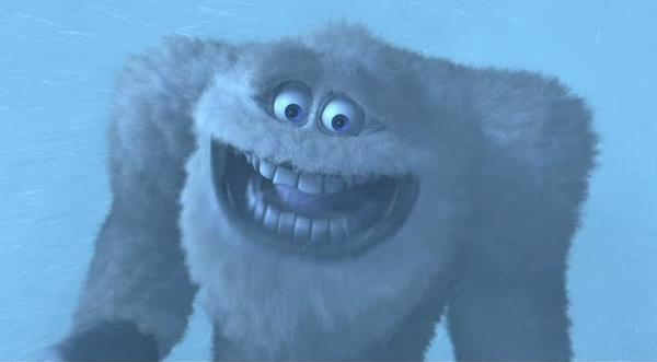 John Ratzenberger as the Abominable Snowman in 'Monsters, Inc.'