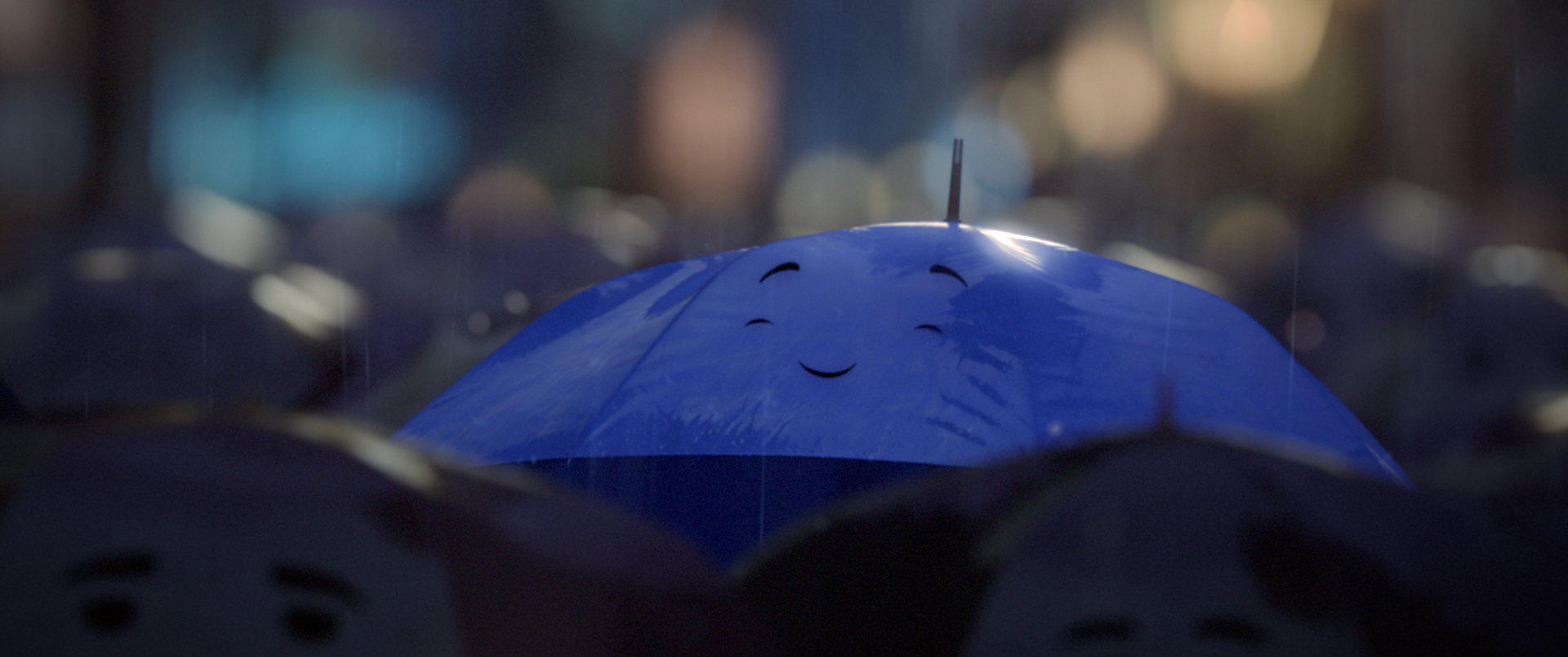 A still from 'The Blue Umbrella'