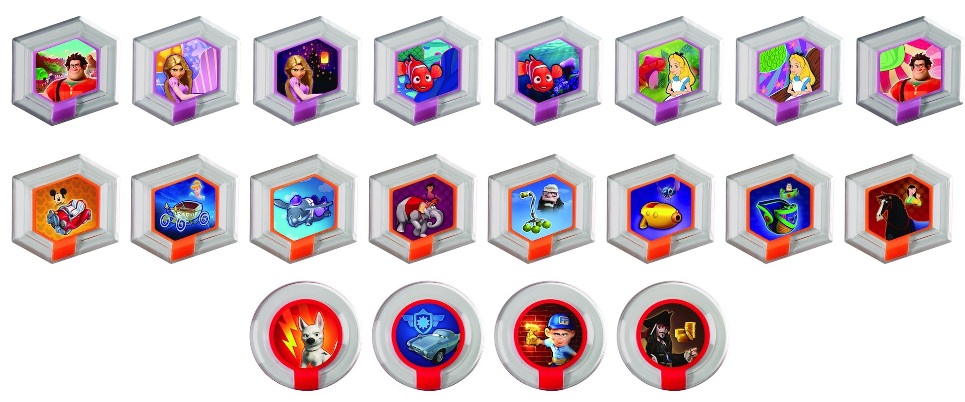 Disney Infinity: Complete List Of Power Discs In Wave 1