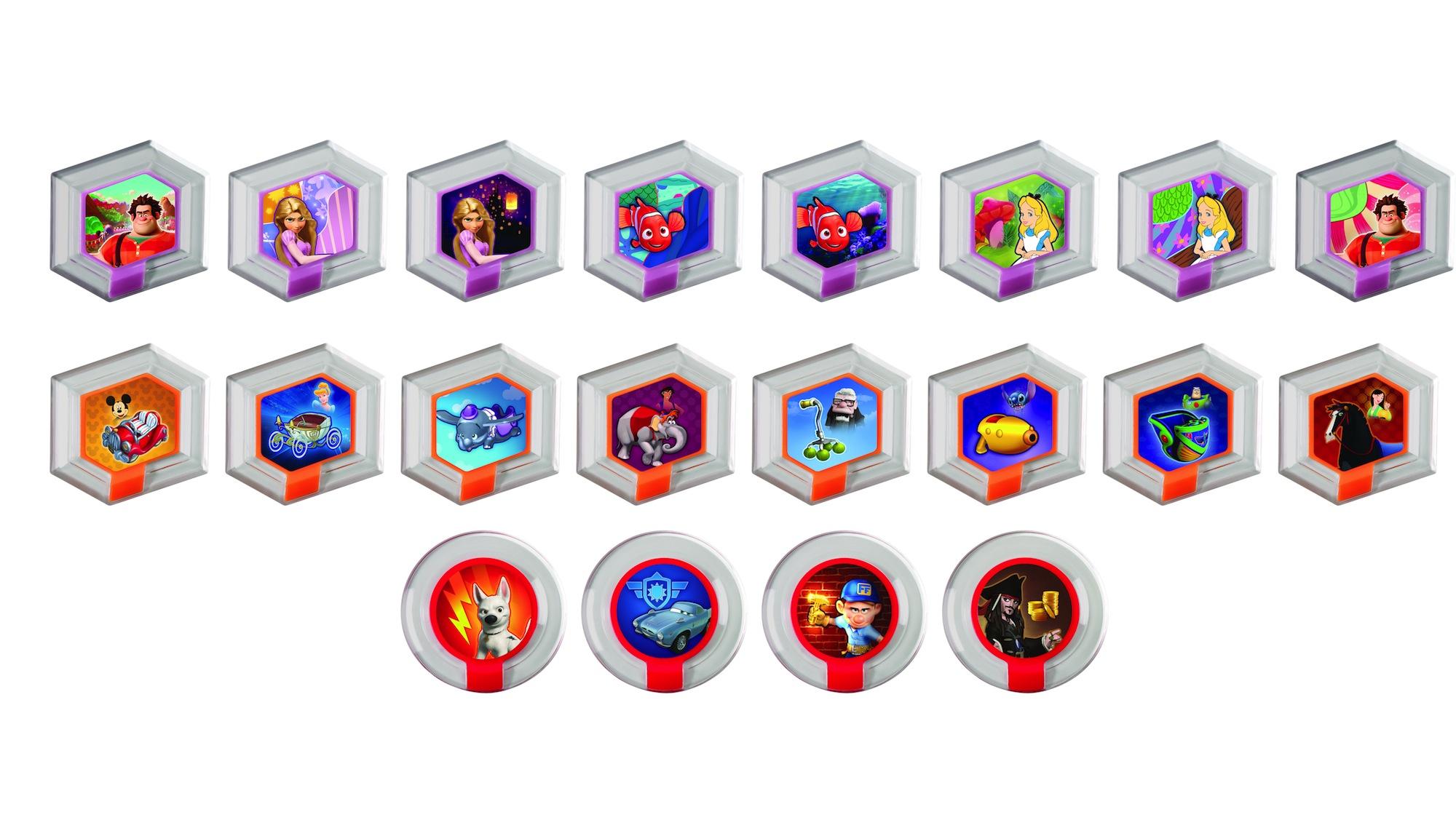 Disney Infinity: Complete List Of Power Discs In Wave 1