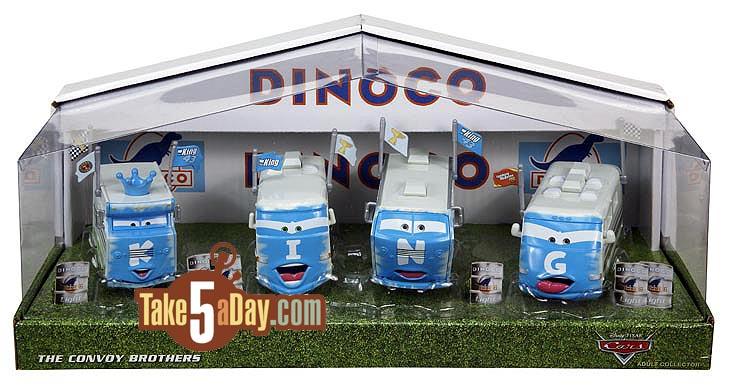 D23 Expo 2013 Dinoco Convoy Brothers
