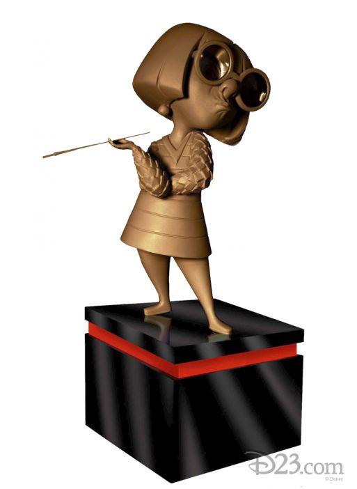 D23 Expo 2013 Edna Mode Trophy