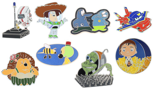 D23 Expo 2013 Pixar Pin Set