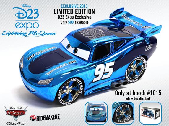D23 Expo 2013 Ridemakerz Lightning McQueen
