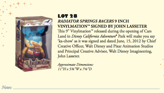 D23 Expo 2013 Silent Auction - Product 2