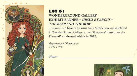 D23 Expo 2013 Silent Auction - Product 8
