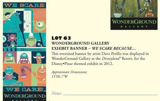 D23 Expo 2013 Silent Auction - Product 9