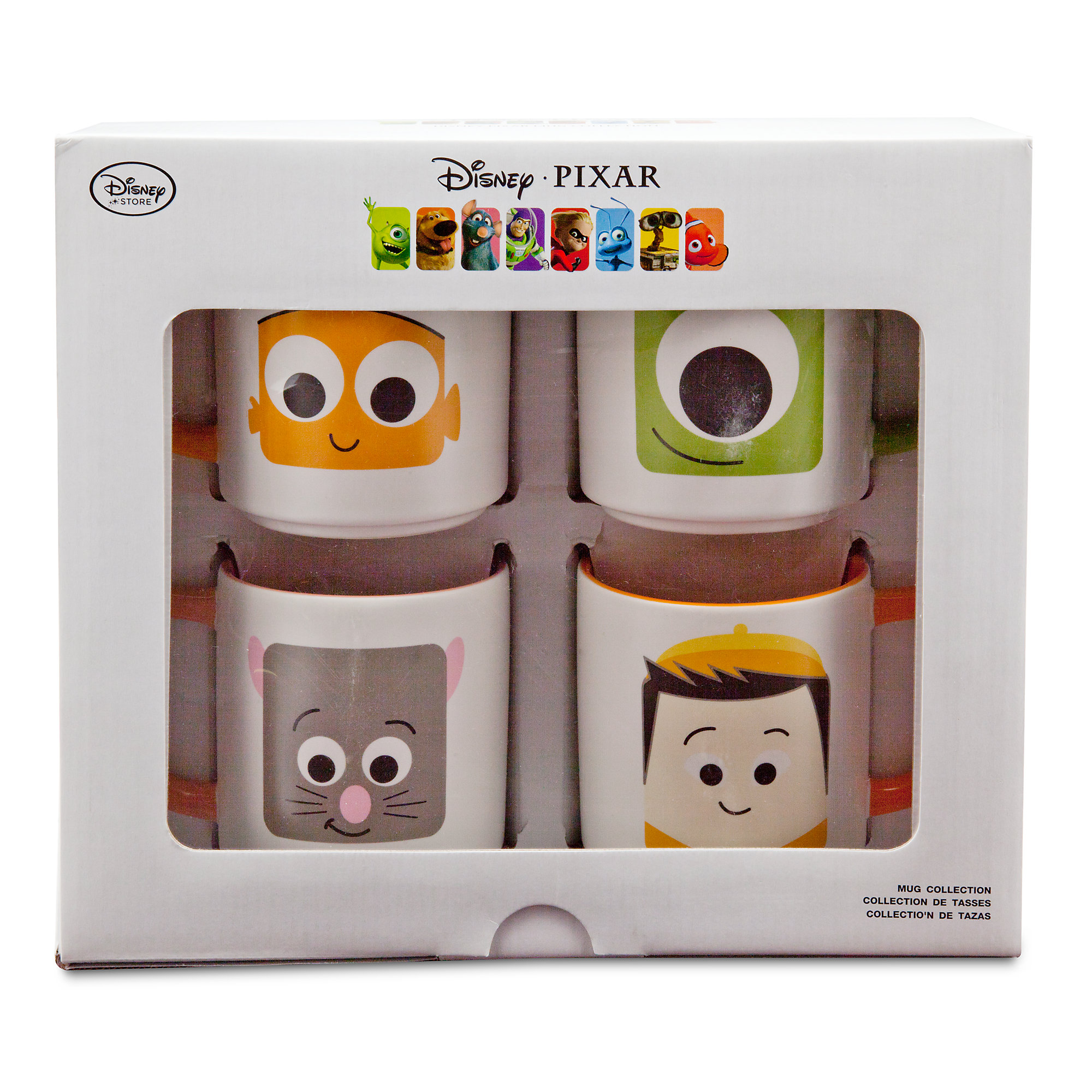 D23 Expo Disney:Pixar Products - Mug Set 1 Packaging