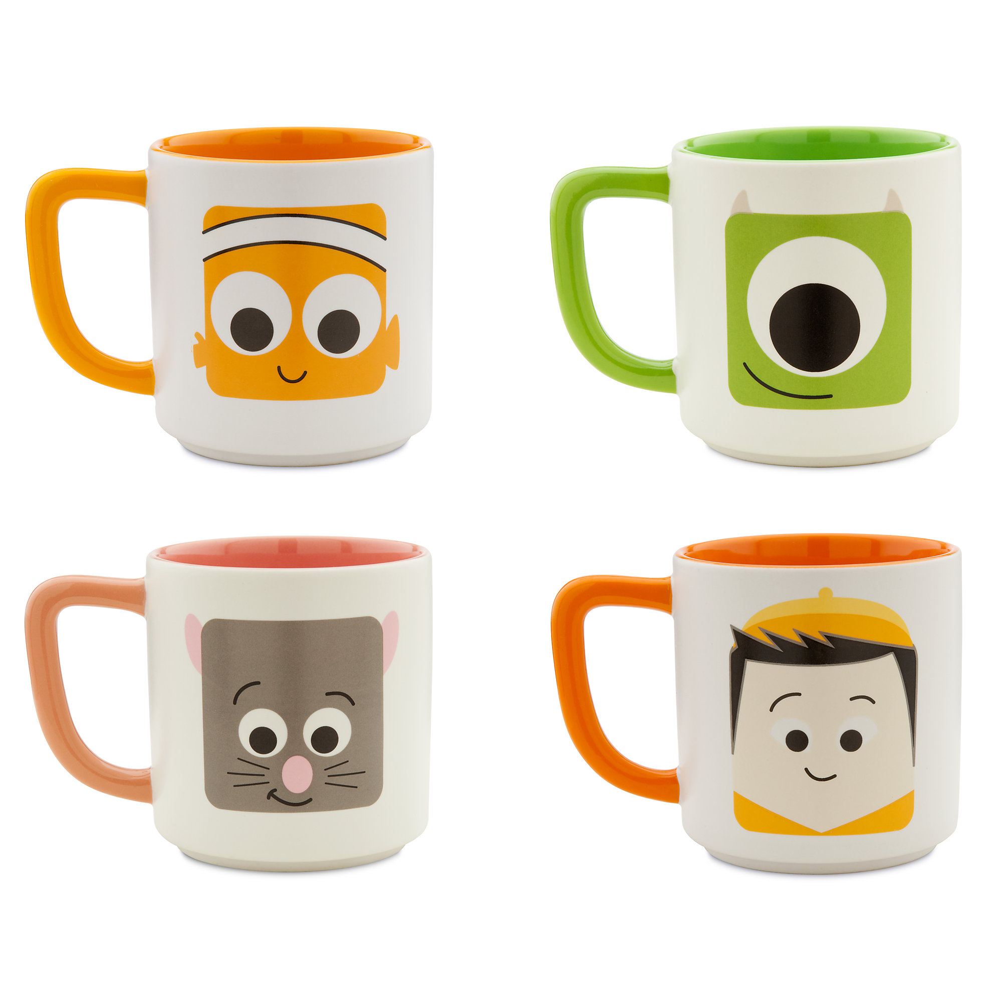 D23 Expo Disney:Pixar Products - Mug Set 1