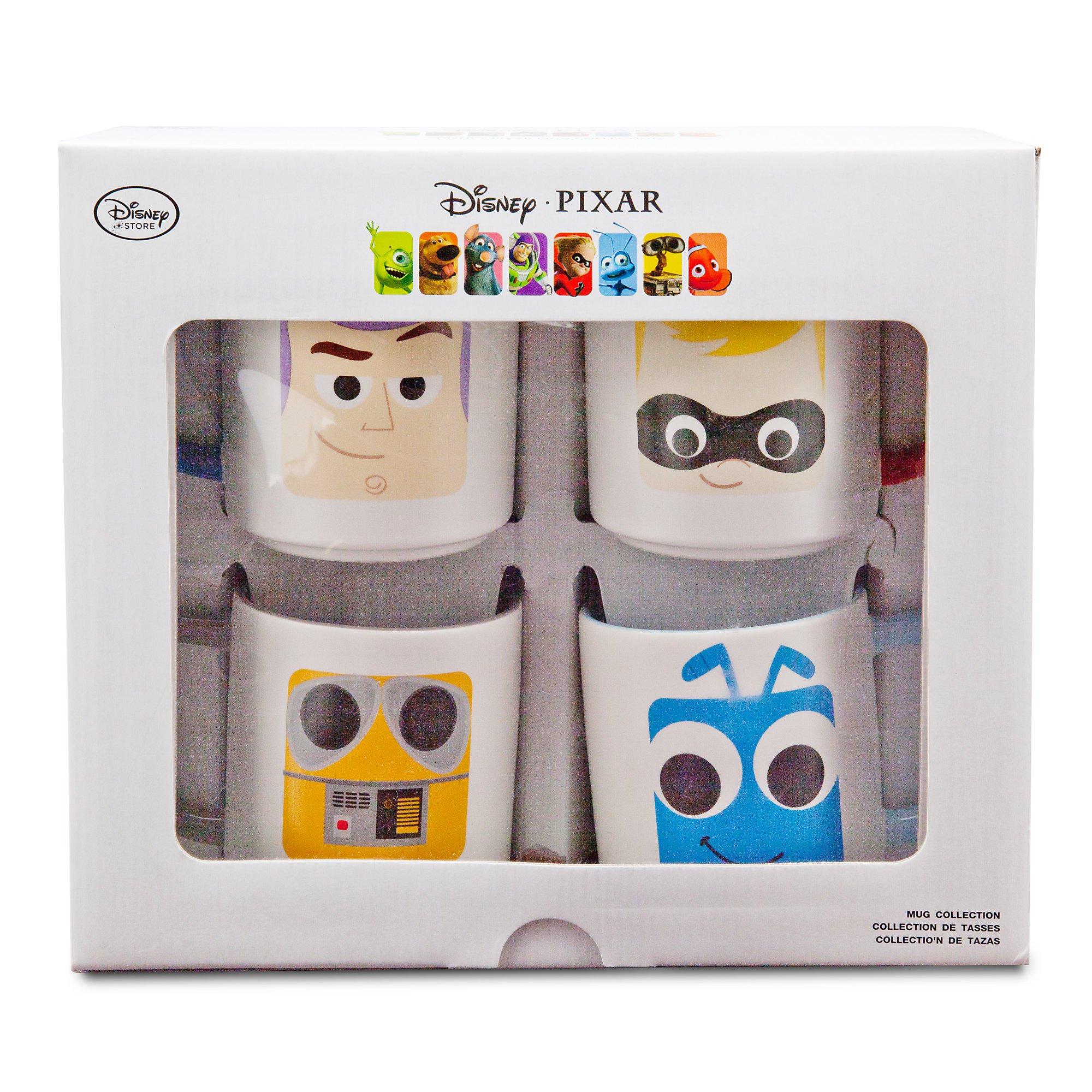 D23 Expo Disney:Pixar Products - Mug Set 2 Packaging