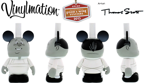 Ratatouille Vinylmation - Gusteau Ghost