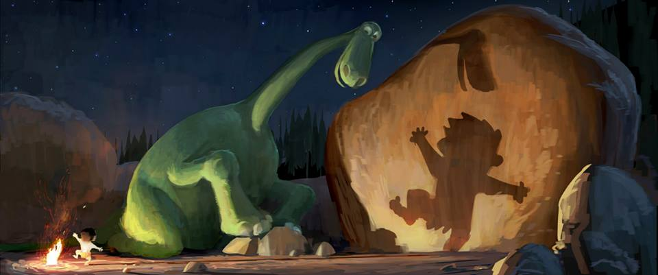 Concept Art for 'The Good Dinosaur'