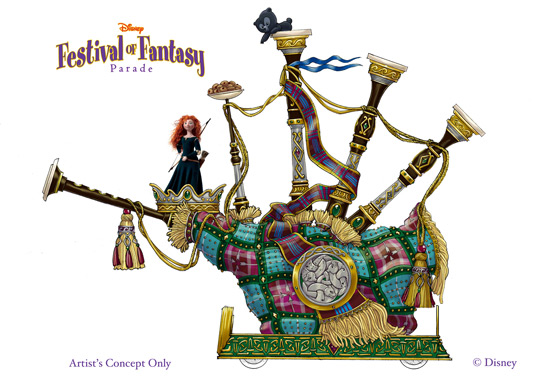 Disney Festival of Fantasy - Merida