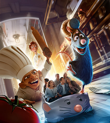 Ratatouille Attraction