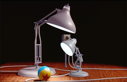 Luxo Jr.'s ball in 'Luxo Jr'
