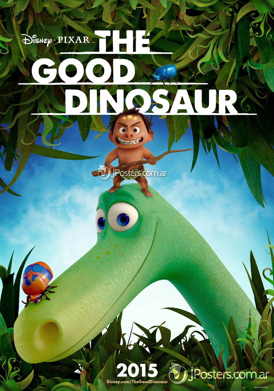 The Good Dinosaur Teaser Poster