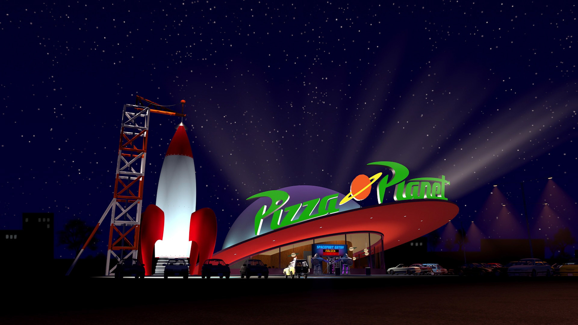 Toy Story - Pizza Planet