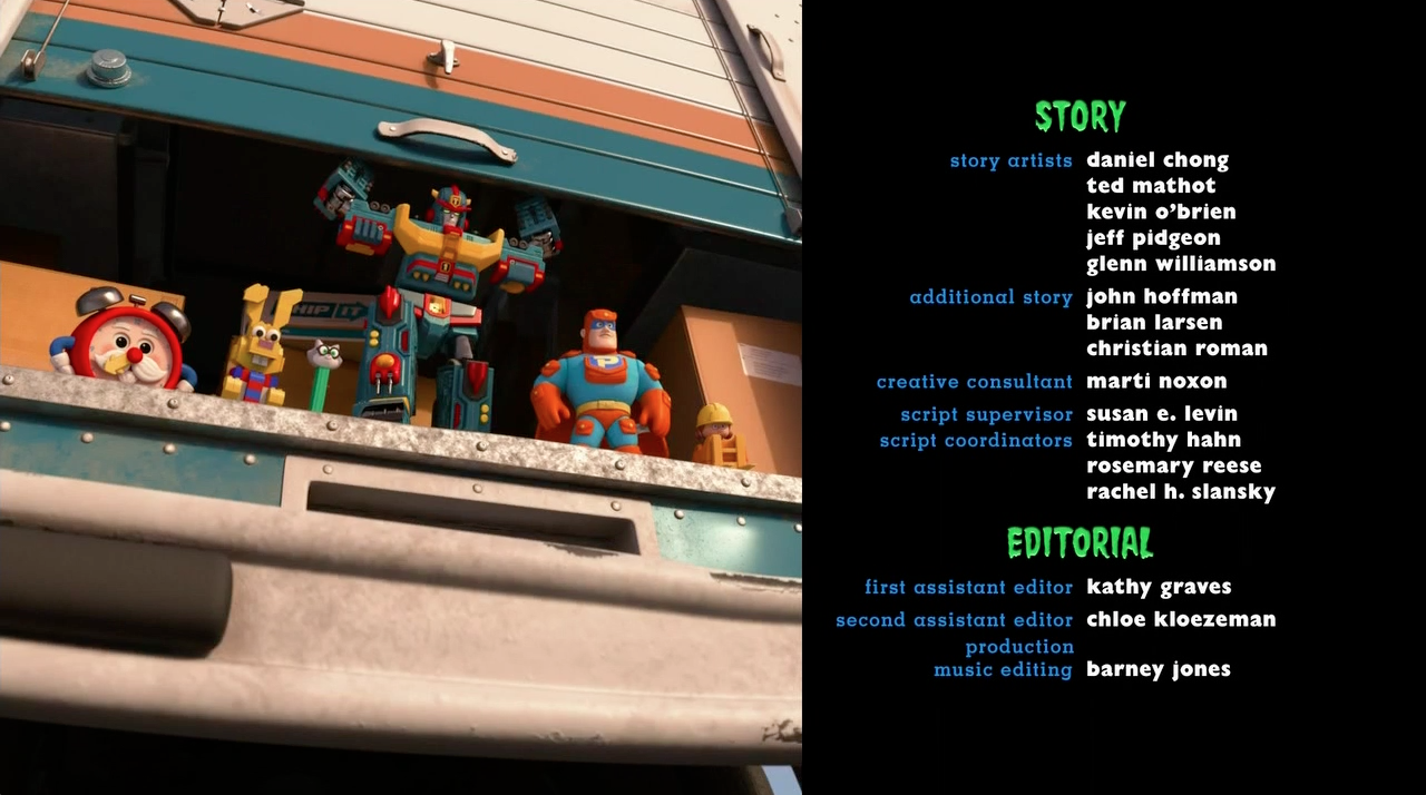 Marti Noxon Credit in 'Toy Story of Terror'