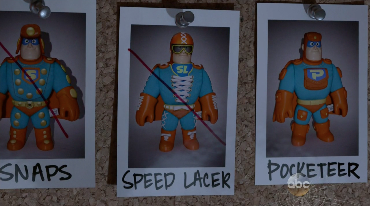 Speed Lacer in 'Toy Story of Terror'
