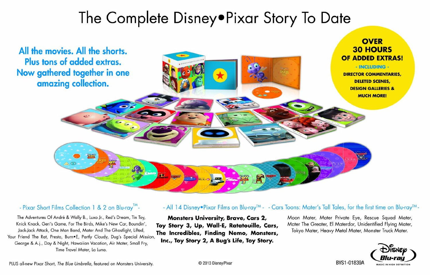 Disney Pixar Complete Collection - Overview
