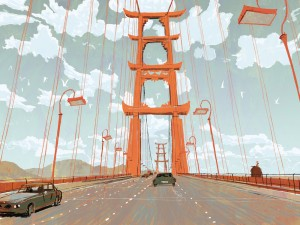 'Big Hero 6' Concept Art