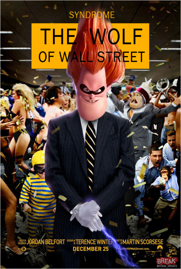 Pixar Added To Wolf of Wall Street