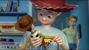 Toy Story - Andy and his hat