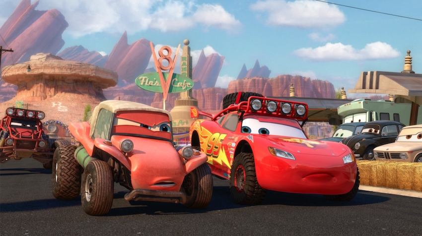 Cars Shorts - Radiator Springs 500 1/2