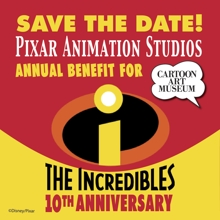 Tour Pixar This May Through Cartoon Art Museum Benefit