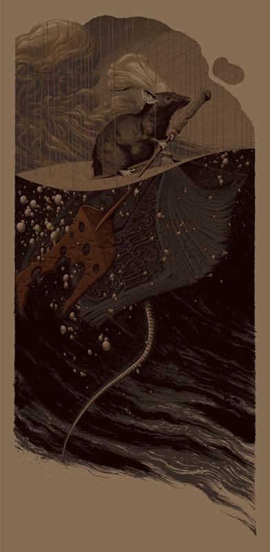 Ratatouille Mondo Poster Variant