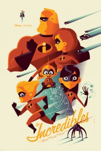 The Incredibles Mondo Poster