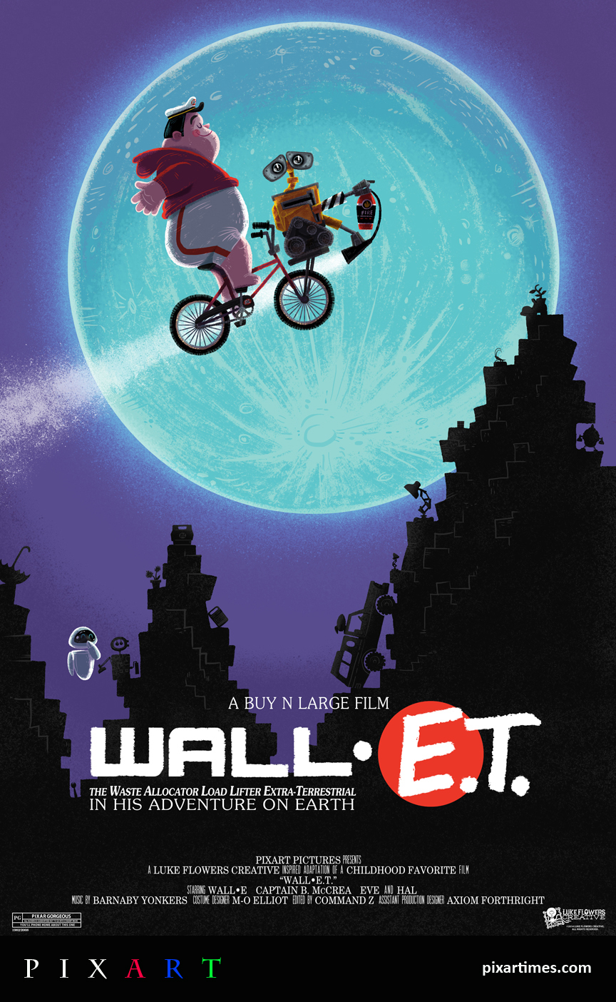 PixArt: March Feature – Pixar Movie Poster Mash-Up