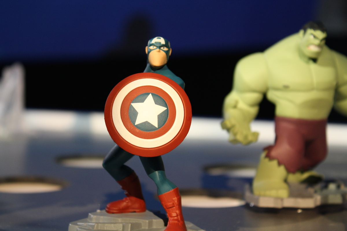 Disney Infinity MS - Captain America (Live)