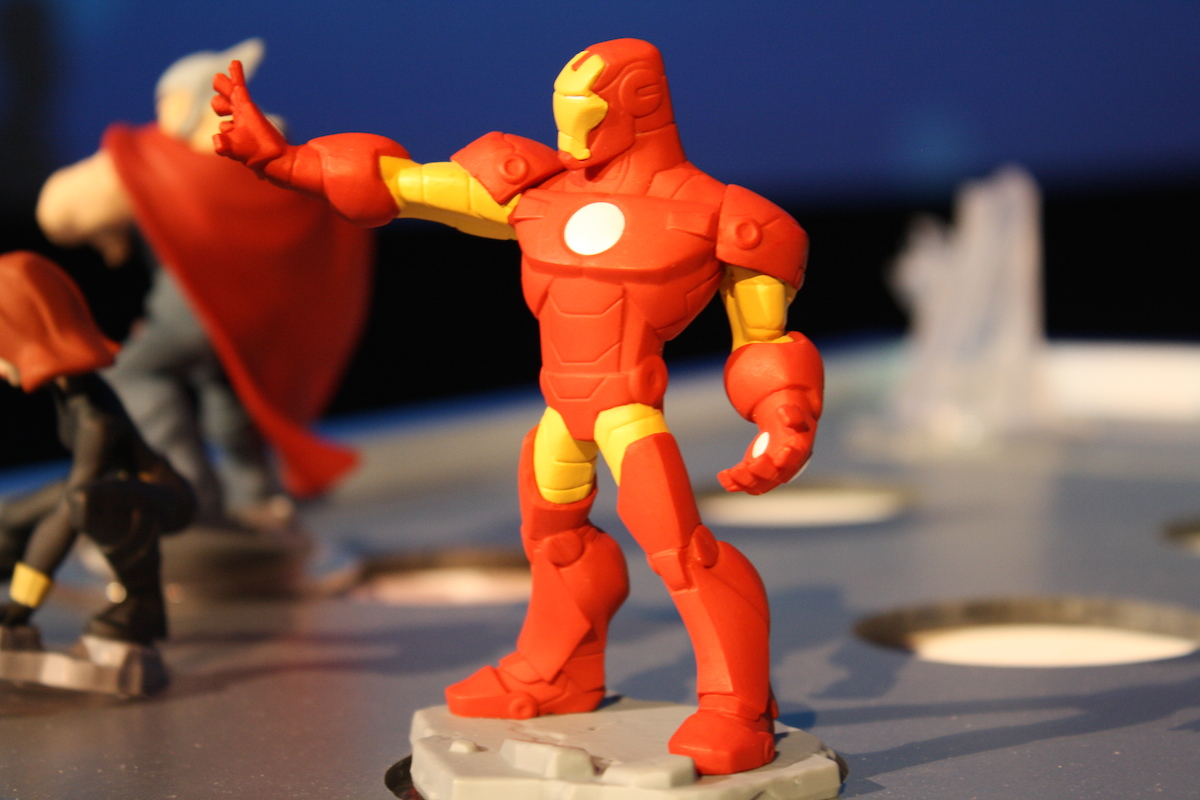 Disney Infinity MS - Iron Man (Live)