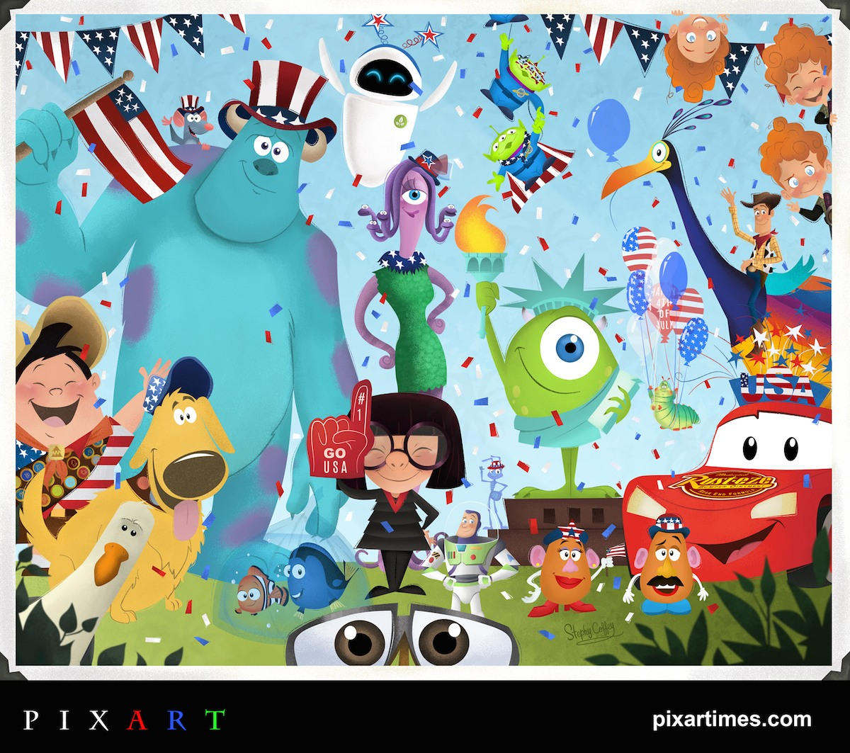 PixArt: July Feature I – Happy 4th