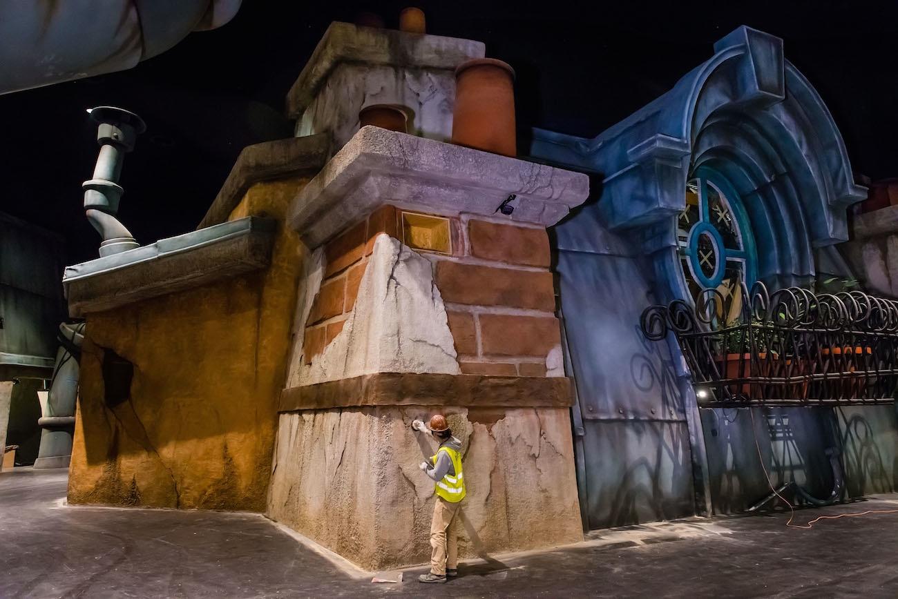 Ratatouille - Attraction - Construction