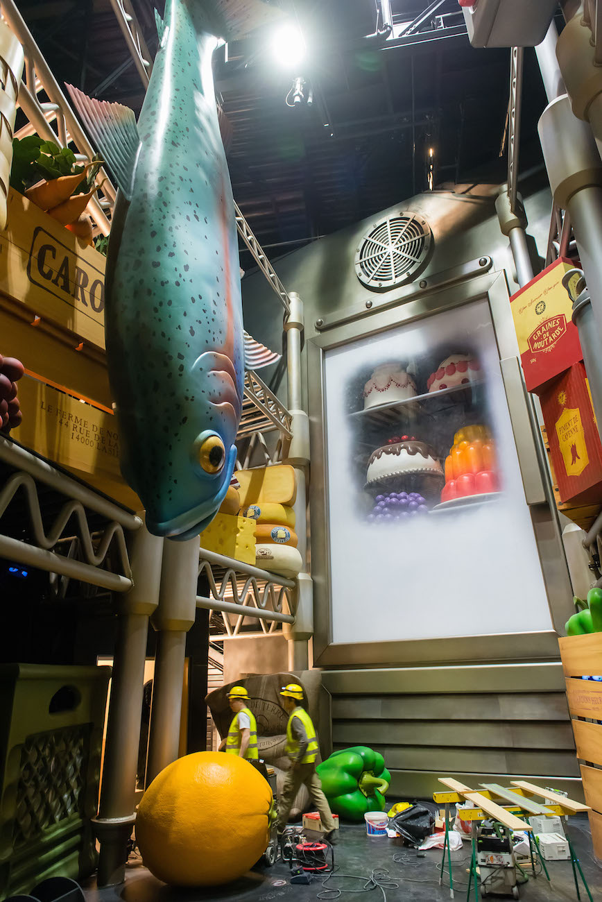 Ratatouille - Attraction - Fridge